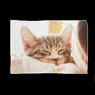 turara shopのねこちゃん Blankets