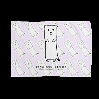 ぺちぺち工房 Pechi Pechi Atelierのおこじょがいっぱい Blankets