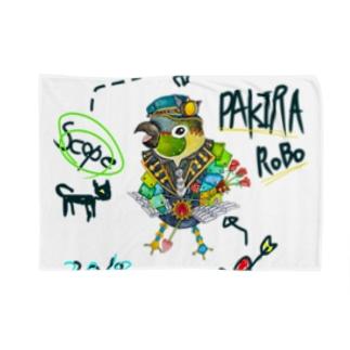 ROBOBO 「パキラロボ」 Blankets