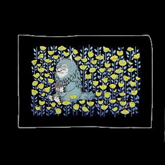 POTSURIのお花畑とオオカミ Blankets