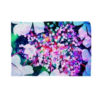 紫陽花 Blankets