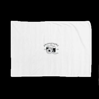 IZANAGIのレトロなカメラ Blankets