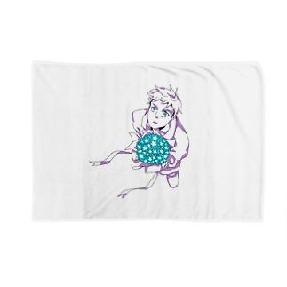 花束と男の子 Blankets