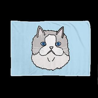®︎ik° 絵とかイラスト のラグドールのぐうちゃん Blankets