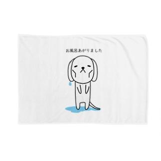 お風呂あがりました Blankets