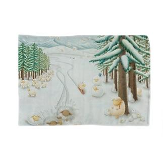 羊雪季節 Blankets