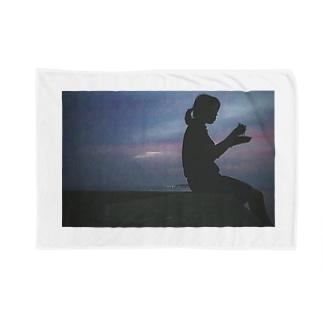 海×ディナー Blankets