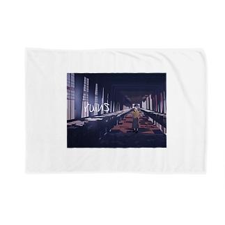 ruins Blankets