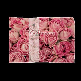 キャッツハンド:suzuriショップの La Vie en rose Blankets