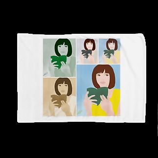 Logic RockStar  illustration Official StoreのGifted  Blankets