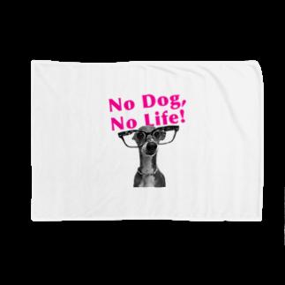 イロハのNo dog,No life! ピンク Blankets
