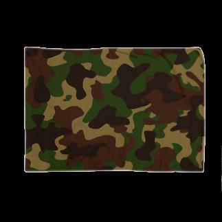 みや猫の迷彩(グリーン) Blankets