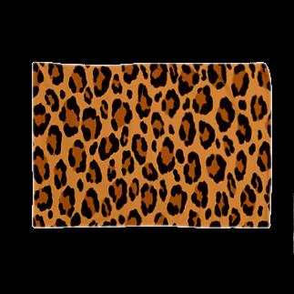 みや猫のヒョウ柄(ブラウン) Blankets