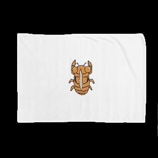 ひよこねこ ショップ 1号店のセミの抜け殻 Blankets