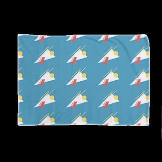 LATEのkarage crêpe Blankets
