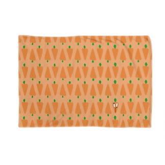 にんじんのブランケット(顔あり) Blankets