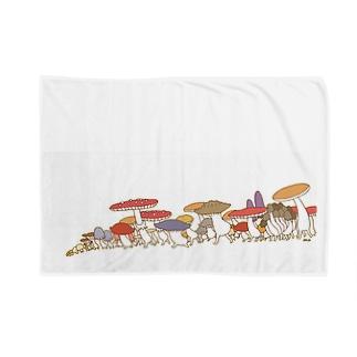 きのこパレード Blankets