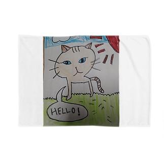 とら猫(茶) Blankets