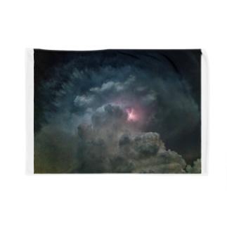 夏と雷雲 Blankets