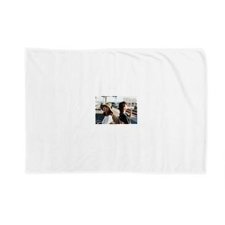 館山の駅のホーム Blankets