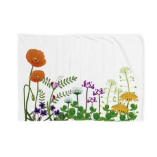 野の花 Blankets