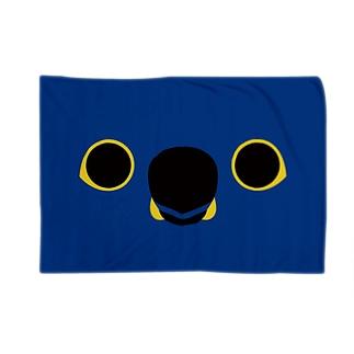 スミレコンゴウインコの顔 Blankets