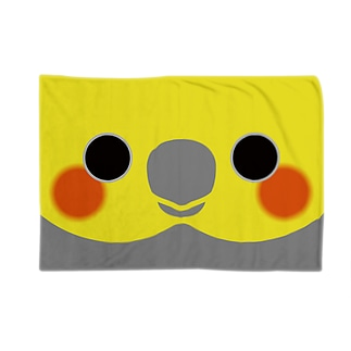 オカメインコの顔 Blankets