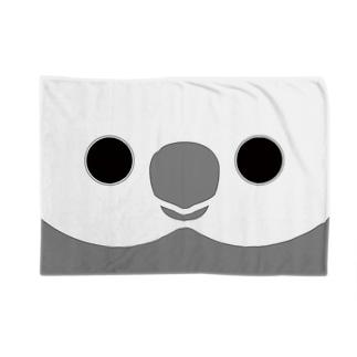 オカメインコのホワイトフェイスの顔 Blankets