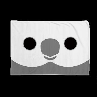 いんこ屋堂のオカメインコのホワイトフェイスの顔 Blankets