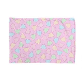 めんだこ(ピンク) Blankets