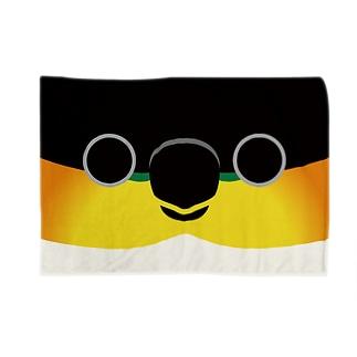ズグロシロハラインコの顔 Blankets