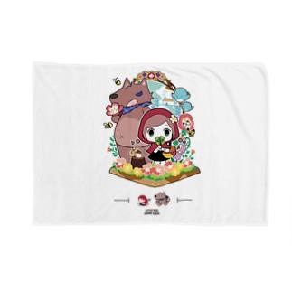 童話『赤ずきんちゃん』ブランケット オリジナルデザイン Blankets