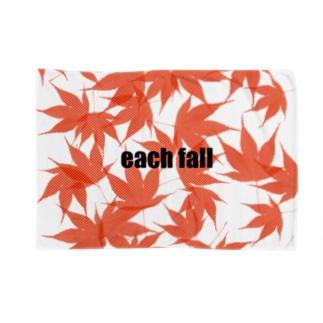 each fall momiji Blankets