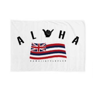 Aloha Flag Blankets