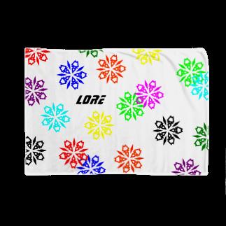 LoreのLore(BLACK) Blankets