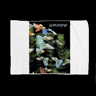dohshinのグッピーの群泳 Blankets
