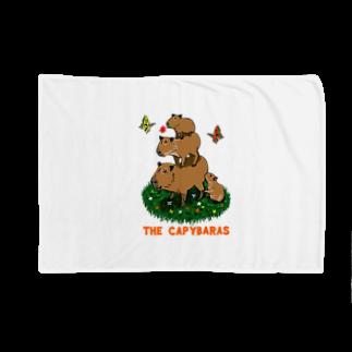 令和堂のthe capybaras Blankets