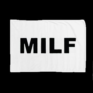 Boneless MilfのMILF the standerd Blankets