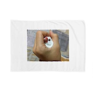 Yoon-1004-95のポキ丸 Blankets