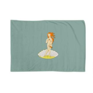 ボッティチェリ「ヴィーナスの誕生」 Blankets