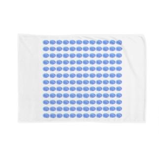 水草のハイパーブルー玉 Blankets