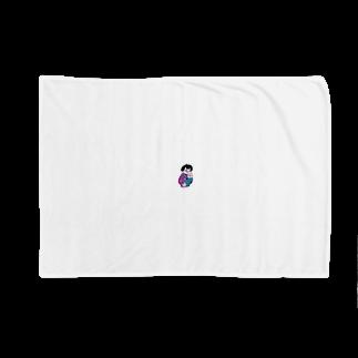 and mick designのプイちゃんとピー助 Blankets
