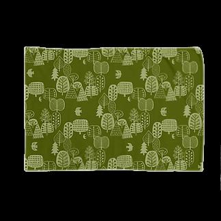 karhu designの森とトリA Blankets