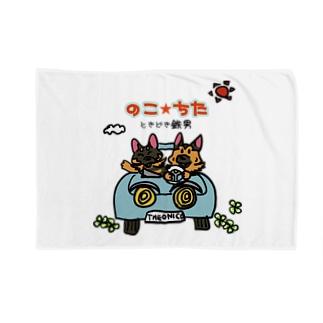 のこ★ちた〜ときどき鉄男 Blankets