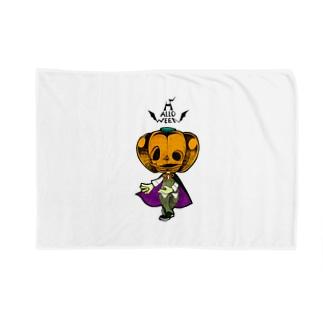 ハロウィンのかぼちゃくん。 Blankets