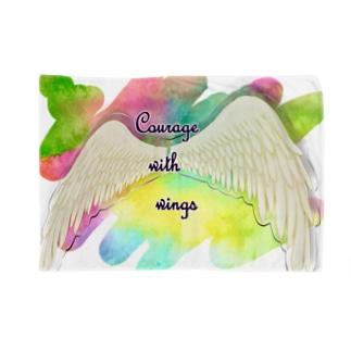 勇気を翼に★天使の羽★癒しカラー Blankets