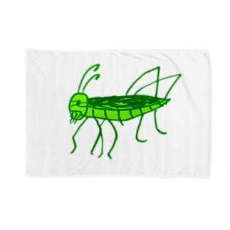 トノサマバッタ Blankets