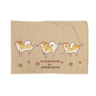しびびシリーズ choco Blankets