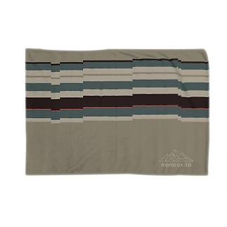山ロゴ・テックネイティブ Blankets