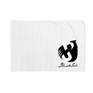 SHINSUKE SADA オフィシャルロゴグッズ Blankets